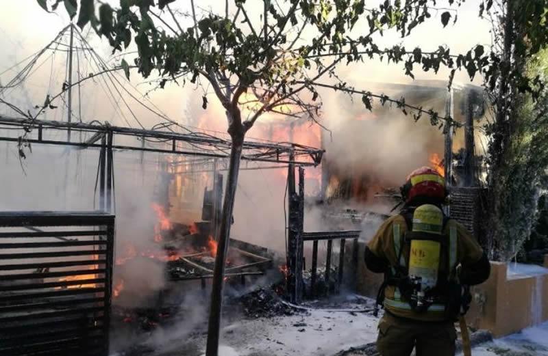 Fire at Magic Robin Hood Hotel In Benidorm