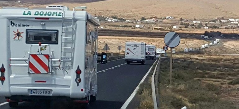 The Motorhome Association Arrives in Lanzarote