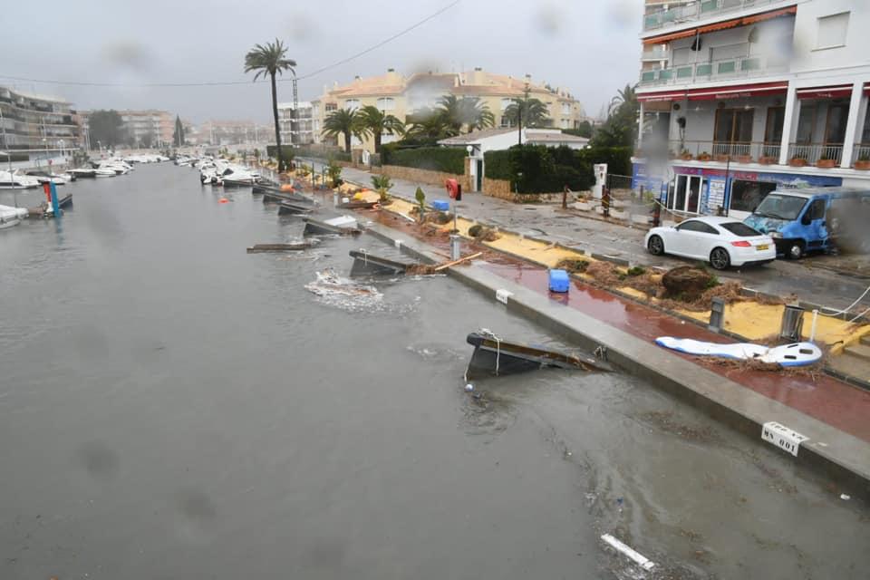 Nine Provinces on Red Alert as Storm Gloria Sweeps Across Spain