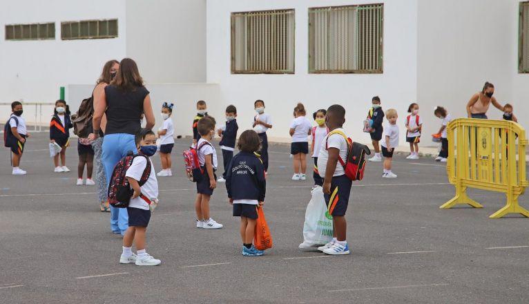 Schools in Arrecife Start Testing Today