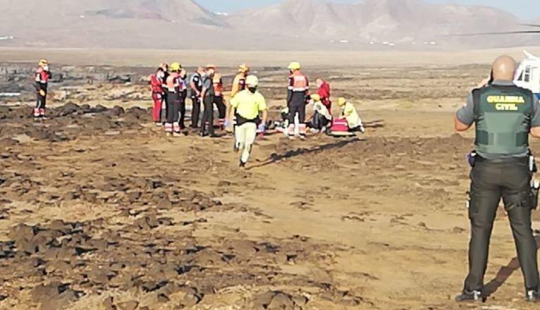 Man Drowned Los Charcones Playa Blanca