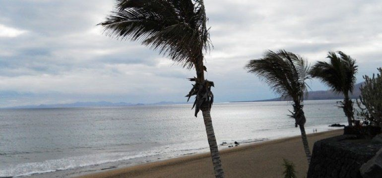 Wind Warning For Lanzarote