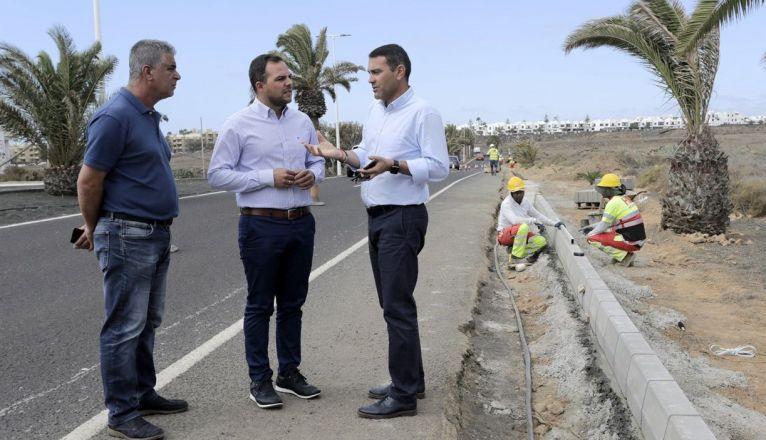 The Avenida de Las Palmeras in Costa Teguise Will be Resurfaced from Monday