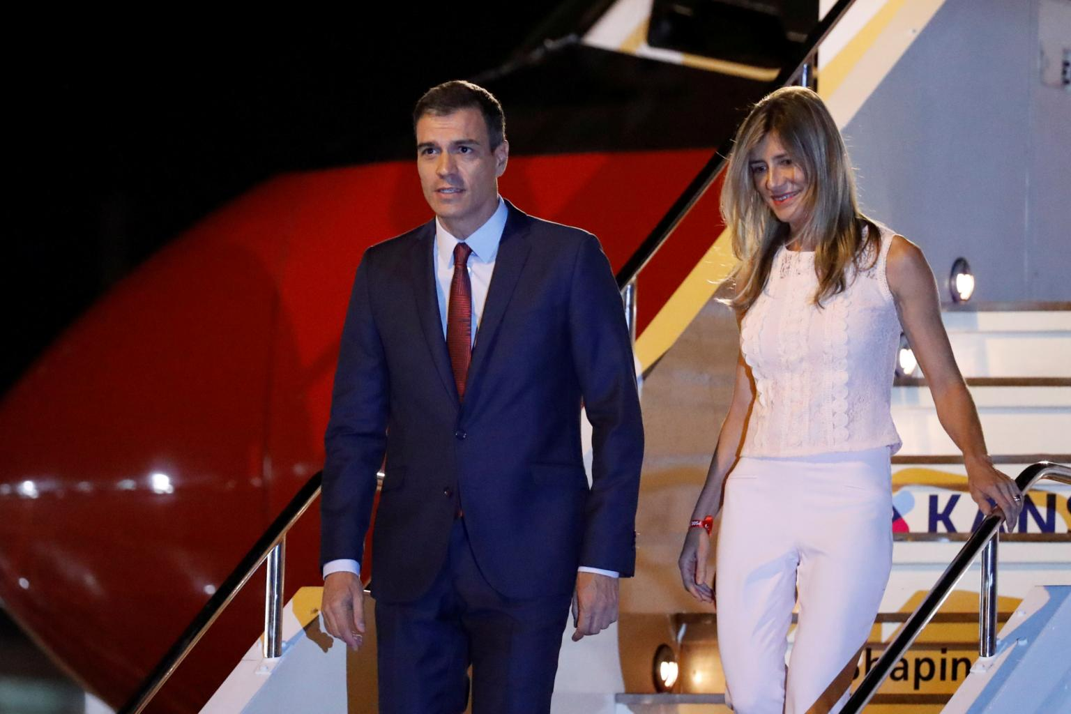 President Sánchez and his Family Arrives Tomorrow